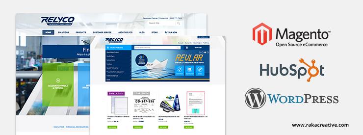 WordPress, HubSpot, Magento Website Build