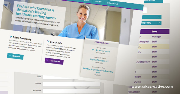 Responsive Design for CoreMedical Group