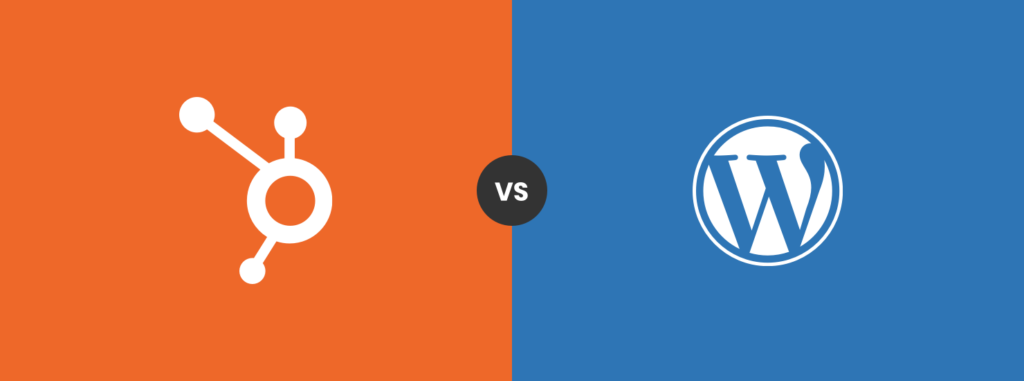 HubSpot vs WordPress platform battle