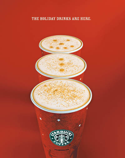 Starbucks Holiday Content Marketing