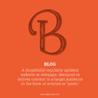 Blog Inbound Marketing Definitions