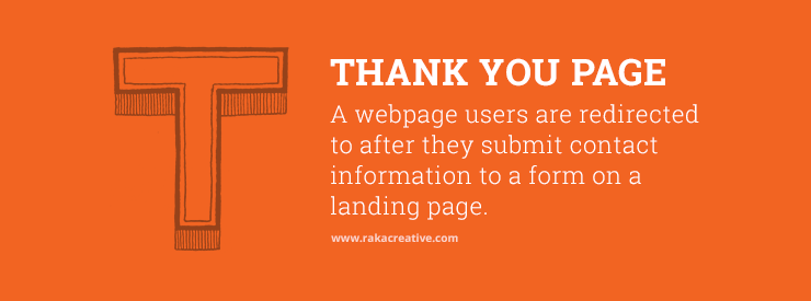Thank You Page Inbound Marketing Definition
