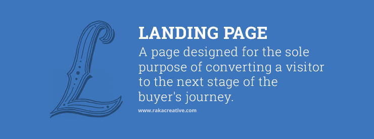 Landing Page Inbound Marketing Definition