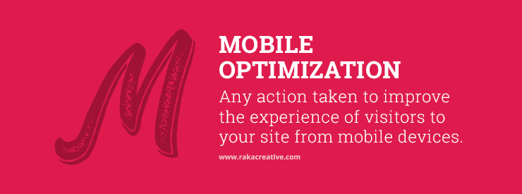 Mobile Optimization Inbound Marketing Definition