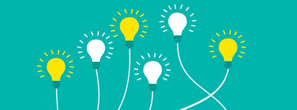 Lead generation ideas, lightbulbs
