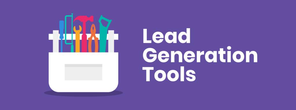 lead generation tools, tool box