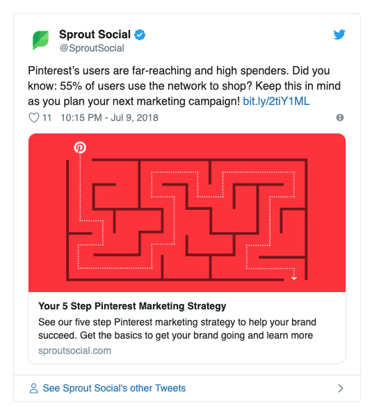Sprout Social twitter