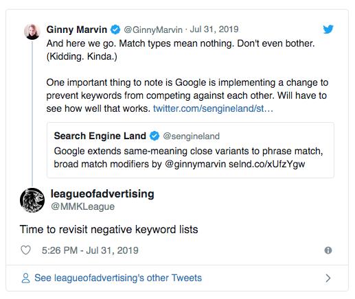 Google Ads Negative Keywords List