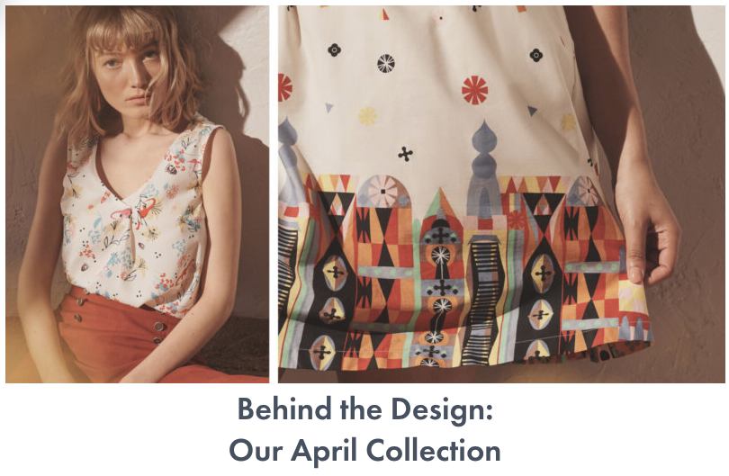 modcloth april collection