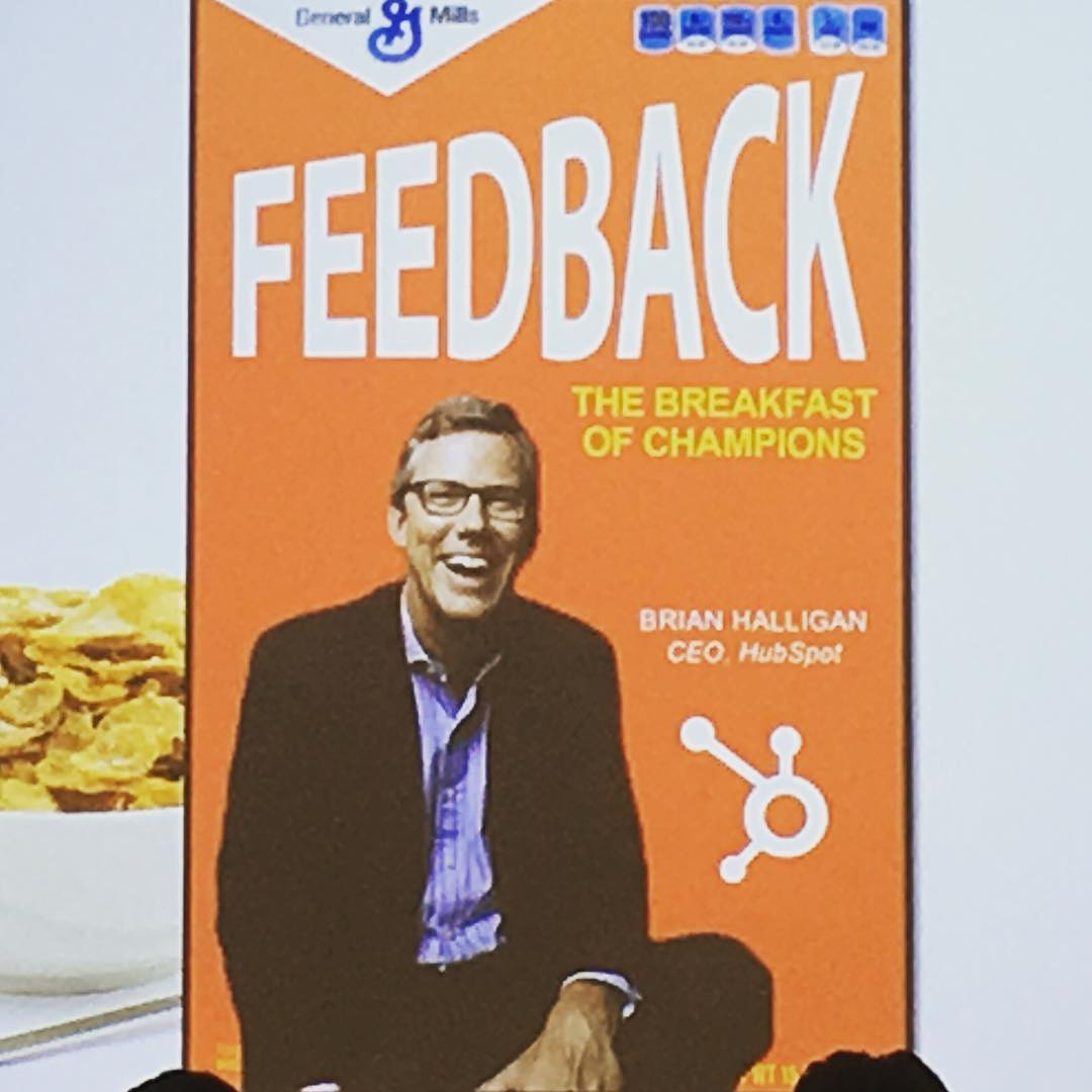 Brian Halligan Feedback Breakfast