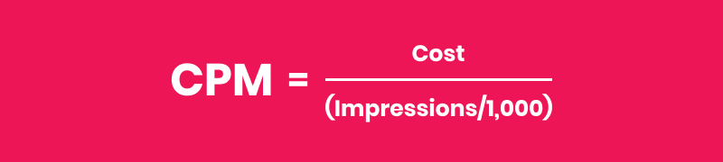 what-is-cost-per-mille-cpm-impressions-definitions-formulas