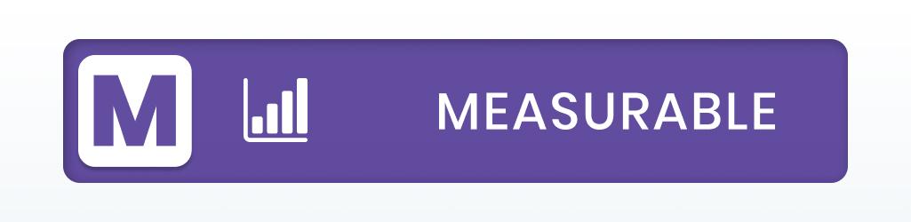 SMART Goals: Measurable