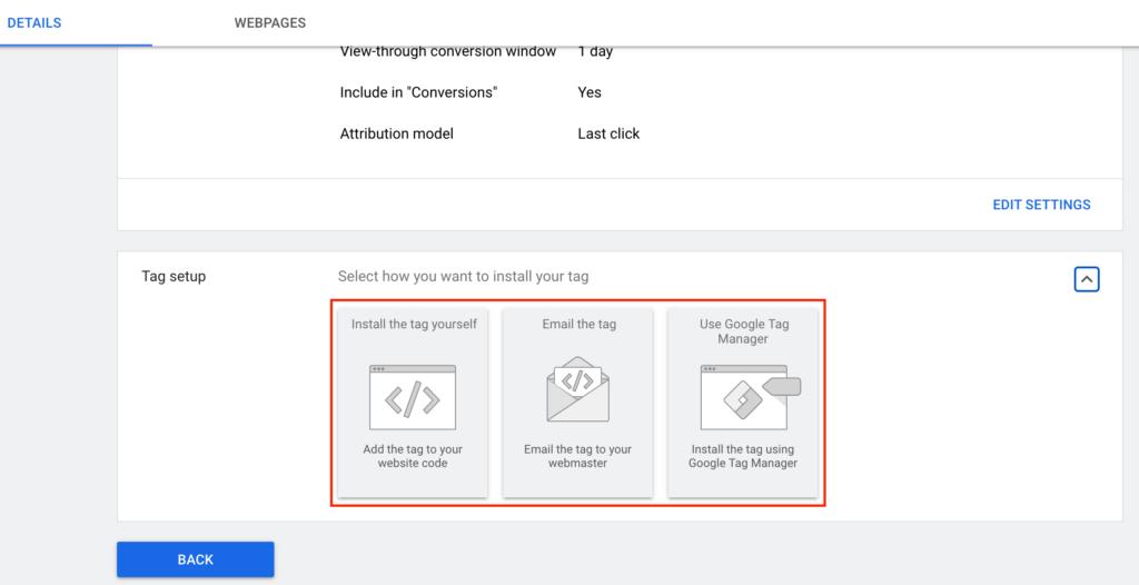 Google Ads Conversion Tracking Setup