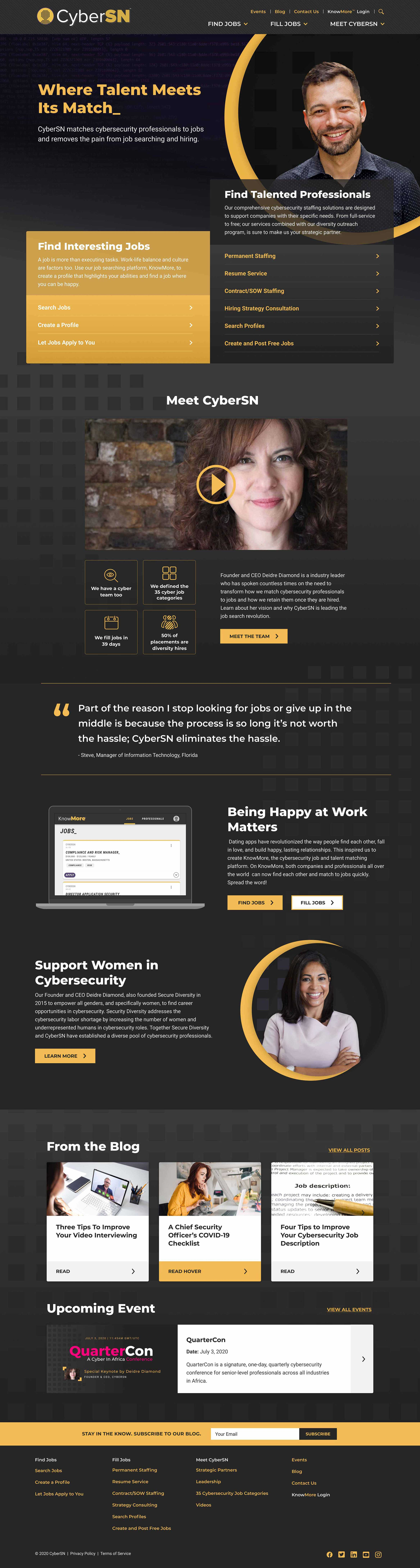 CyberSN Homepage